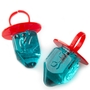 Blue Raspberry Hanukkah Dreidel Jewel Pops - 18CT Bag