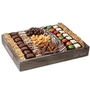 Wooden Rustic Chocolate Truffles Line Up - Large 14