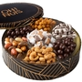 Oh! Nuts Gourmet Chocolate Round Gift Tin