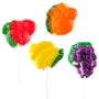 Assorted Fruit Lollipops - 15 CT