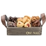 Purim Rastic Nuts & Chocolate Gift Basket
