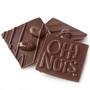 Oh! Nuts Mocha Beans Dark Chocolate Bark Square