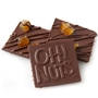 Oh! Nuts Candied Orange Dark Chocolate Bark Square