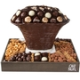 Oval Dark Chocolate & Nut Gift Basket