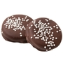 White Pearls Dark Chocolate Coated Sandwich Cookies