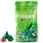 Green Hershey's Kisses - 17.6oz Bag