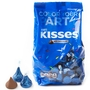 Dark Blue Hershey's Kisses - 17.6oz Bag