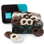 Chocolate Belgian Pretzels Gift Tin