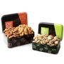 Holiday Fresh Nuts Tin Duo Gift Basket