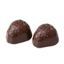 Hand Made Dark Chocolate Strawberry Parve Truffles