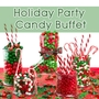 Christmas Party Candy Buffet
