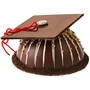 Hand Made Belgian Chocolate & Candies Graduation Hat SMASH CAKE