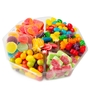 7 Section Candy Gift Basket - 1 LB Platter