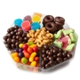 7 Section Chocolate & Nut Tray - 1 LB Platter