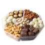 7 Section Premium Non-Dairy Chocolate - 2LB Gift Platter