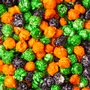 Autumn Candy Coated Popcorn