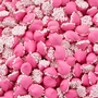 Pink Mini Creamy Mint Nonpareils Drops - 1 LB Bag