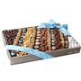 Baby Boy Chocolate & Nut Square Gift Basket - Large 18