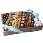 Medium 12  Boy Chocolate & Nut Square Gift Basket