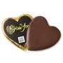 'Miss You' Dark Belgian Chocolate Message Heart
