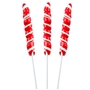 Mini Red & White Unicorn Lollipops - 24CT