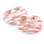White Chocolate Covered Pretzels with Pink Drizzle