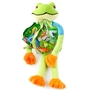 Purim Fun Frog Clear Treat Bag