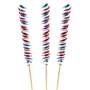 Patriotic Jumbo Twist Pop - 15 CT