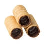 Chocolate Lined Empty Cannoli - 18CT Box