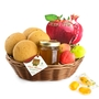 Sweet Treats Wicker Basket - 1 Pc.