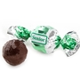 Senior Green & Silver Dark Chocolate Praline with Chocolate Filling - 2.2 LB