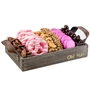 Wooden Baby Girl Pretzels Line Up - Medium