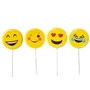 Fun Hand Made Emoticon Lollipops