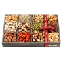 Festive Wooden 12 Section Nuts Tray
