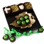 New Leaf - Purim Gold Leaf Dish Gift Basket Mishloach Manos