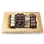 Frosted Gold Chocolate Picture Frame Gift Tray