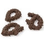 Chocolate Sprinkle Broken Pretzel Pieces - 1 LB Bag