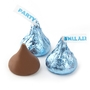Light Blue Hershey's Kisses Birthday - 7oz Bag
