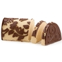 Hand Crafted Peanut Butter Praline Chocolate Log