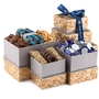 Hanukkah Gold Mosaic Gift Tower
