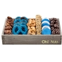 Hanukkah Medium Wooden Line Up Gift Basket