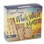 Passover Whole Wheat Matzo
