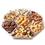 Passover 7 Section Nuts Platter