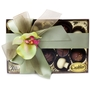 Premium Belgium Truffles Clear Box - 12 PC Box