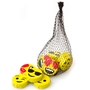 Milk Chocolate Emojis Discs Mesh Bags - 24CT Box