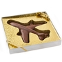Bon Voyage Airplane Golden Chocolate Box