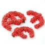 Red Sprinkle Broken Pretzel Pieces - 1 LB Bag