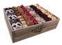 Rosh Hashanah Decorative Wooden Gift Basket - Israel Only