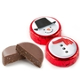 Holiday Snowman Foiled Chocolate - 2PC Favor Box