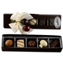 Premium Belgium Truffles Black Box - 5 PC Box